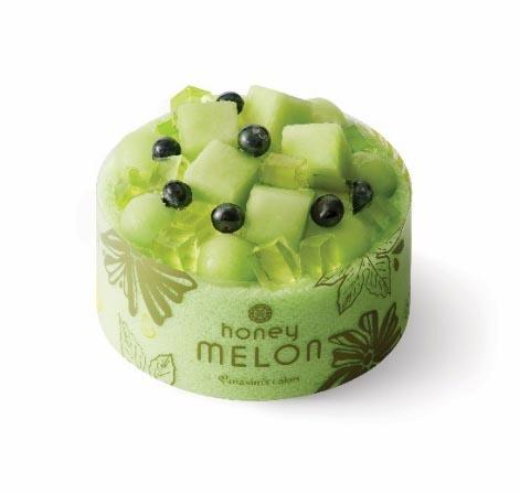 全新美心透綠蜜瓜蛋糕