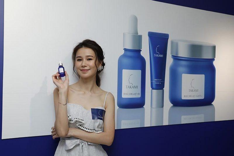 黃翠如BB現身日本人氣醫學品牌TAKAMI新品發佈活動 發表透明系女子宣言