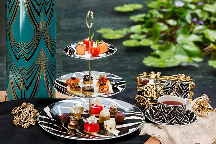 Roberto Cavalli x TIVANO 意大利餐廳 推出限定精品下午茶