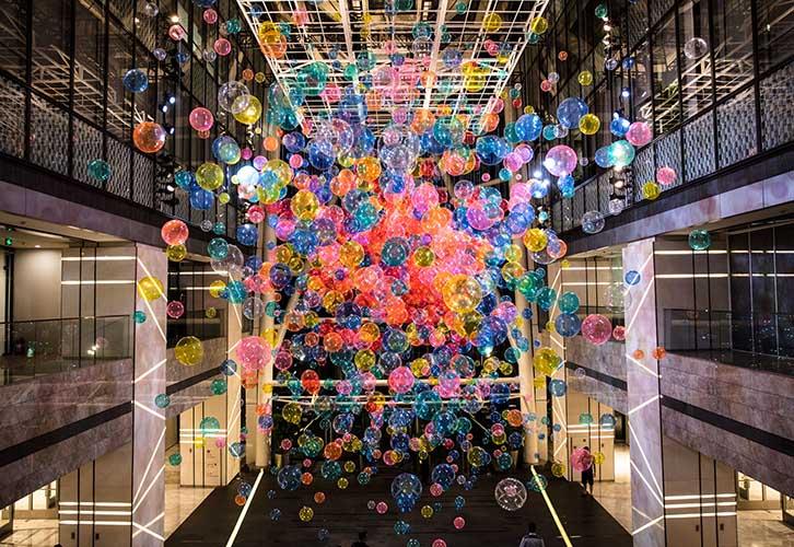 IRODORI 視覺呈現的氣球藝術