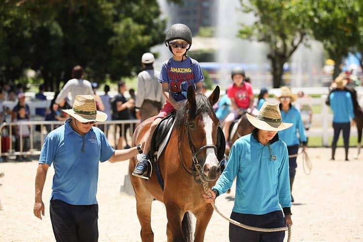 香港賽馬會主辦開季試閘樂滿FUN季前嘉年華