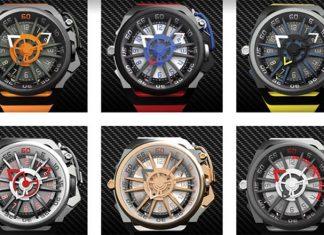 Rim腕錶由創意澎湃的Simone Mazzucato設計
