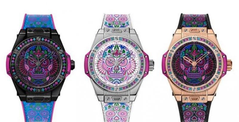 Hublot Big Bang One Click Calavera Catrina 骷髏系列腕表