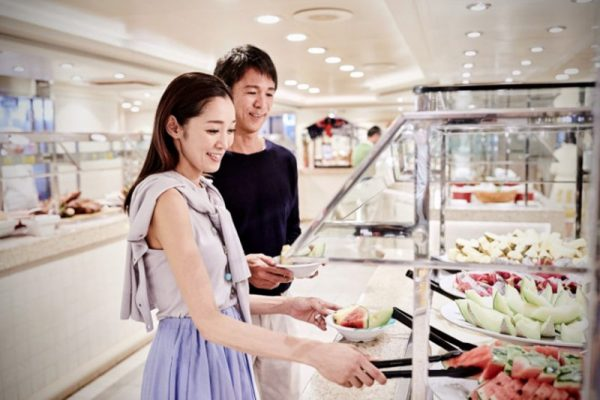 盛世公主號-Majestic-Princess-郵輪-Market-Place-dining-buffet-gourmet-bar-ship-tour-food