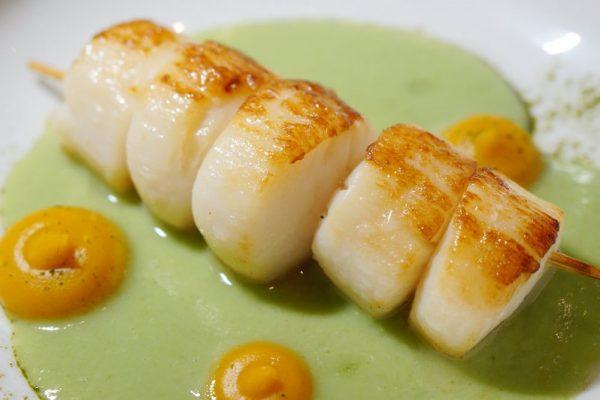 盛世公主號-Majestic-Princess-郵輪-michelin-la mer-法國-米其林-米芝蓮-三星主廚-Emmanuel-Renaut-cruise-ship-tour-travel-gourmet-food-restaurant-cuisine-scallop