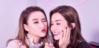 蔡卓妍、何超蓮的幕前首次合作 YSL BEAUTY VOLUPTÉ 黑心唇膏最新宣傳