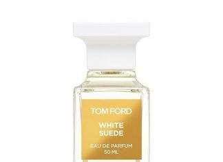 WHITE SUEDE 系列內的三種香氛 White Suede, Jasmine Musk 及 Musk Pure