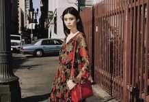 2019年春夏季系列手袋的全新繆斯女神:著名模特兒奚夢瑤