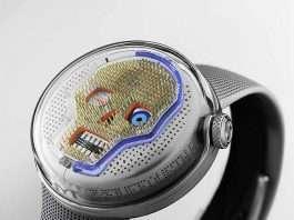 new liquid watch by HYT 2019