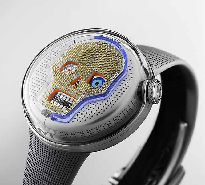 new liquid watch by HYT 2019