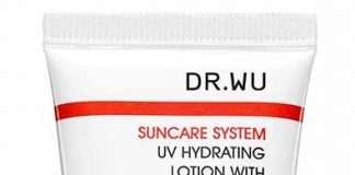 dr wu 潤色款,能校正暗沉膚色、修飾毛孔 ,兼具底妝與防曬效果
