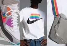 nike hong kong supports rainbow color series