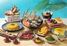 Okinawa style buffet at Hong Kong Royal Park Hotel