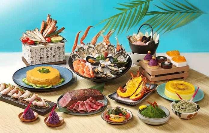 Okinawa style buffet at Hong Kong Royal Park Hotel