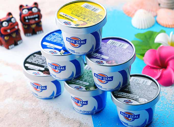 okinawa ice cream blue seal launched in hong kong