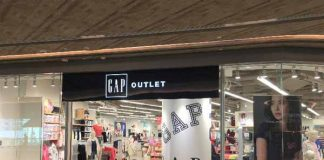 Citygate Gap Outlet opened in Hong Kong