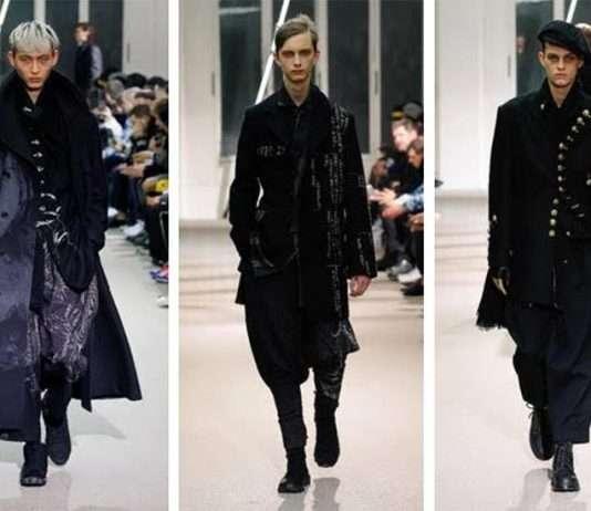 Fashion look 2019 design by yohji yamamoto
