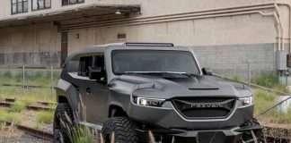 多功能SUV車 rezvani tank