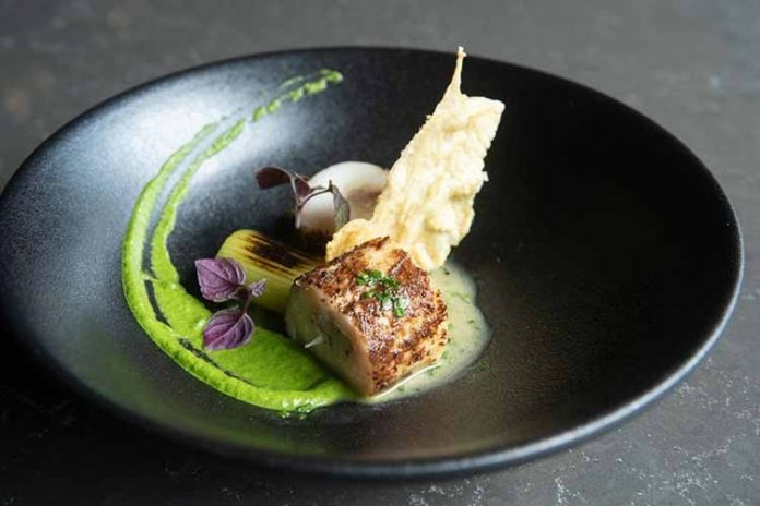 Monkfish by SENTI restaurant