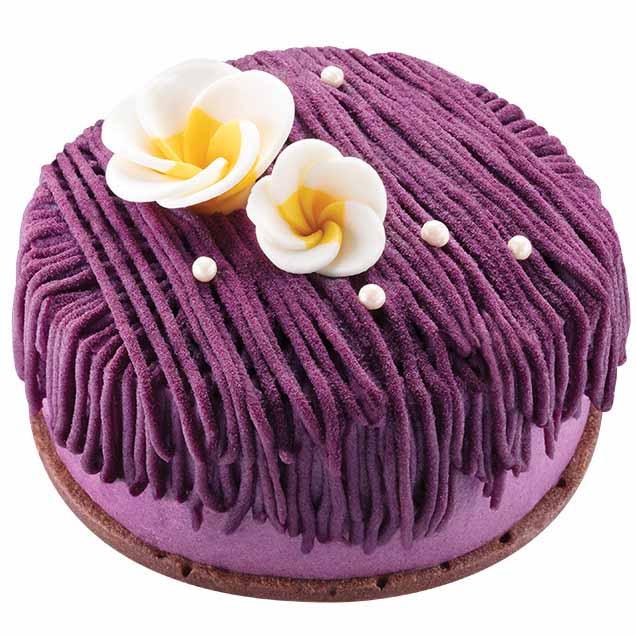 聖安娜沖繩紫薯黑糖麻糬蛋糕