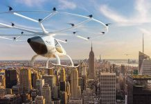 volocopter is flying in NYC