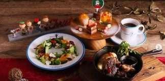 中目黑、橫濱、神戶PEANUTS Cafe DINNER 聖誕晚餐