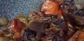 ox tail recipe 中文