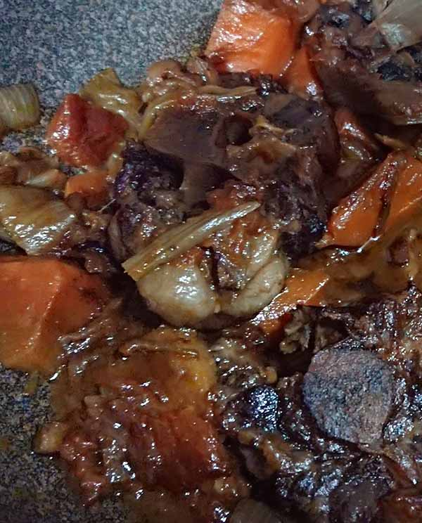 ox tail recipe 中文