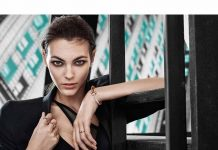 Vittoria Ceretti featuring Tiffany T1 Collection