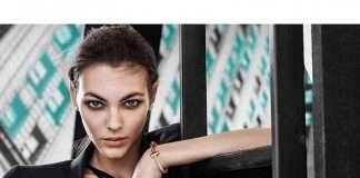 Vittoria Ceretti featuring Tiffany T1 Collection