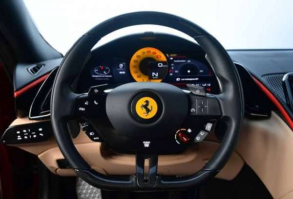 Ferrari ROMA steering wheel