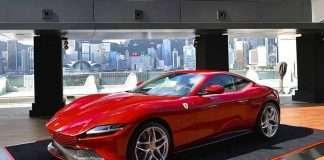 Ferrari ROMA arrived Hong Kong