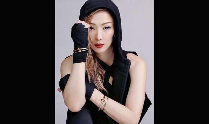 鄭秀文 (Sammi) 演繹 Tiffany & Co T1 珠寶