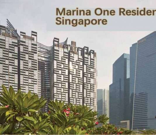 Marina One Singapore located in heart of city, for sale
