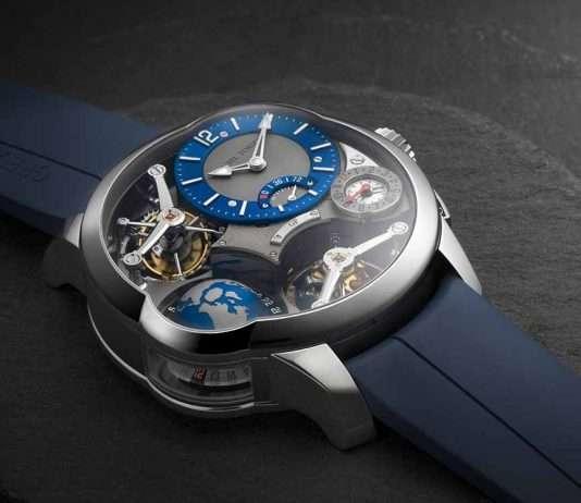 GMT Quadruple Tourbillon 世界時間四體陀飛輪腕錶